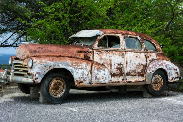 auto's recyclen